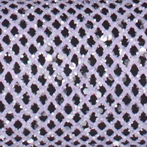 "1 3/8"" WIRED FINE MESH,LAVENDER"