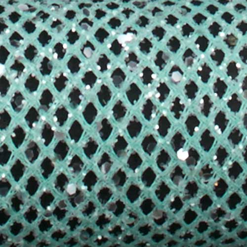 "1 3/8"" WIRED FINE MESH,MINT"