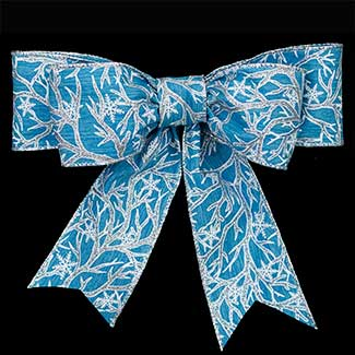 "2 1/2"" WIRED WINTER BRANCHE RIBBON"