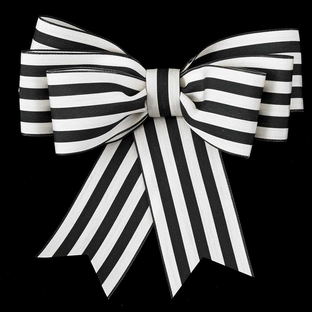 "2 1/2"" VINTAGE STRIPE RIBBON"