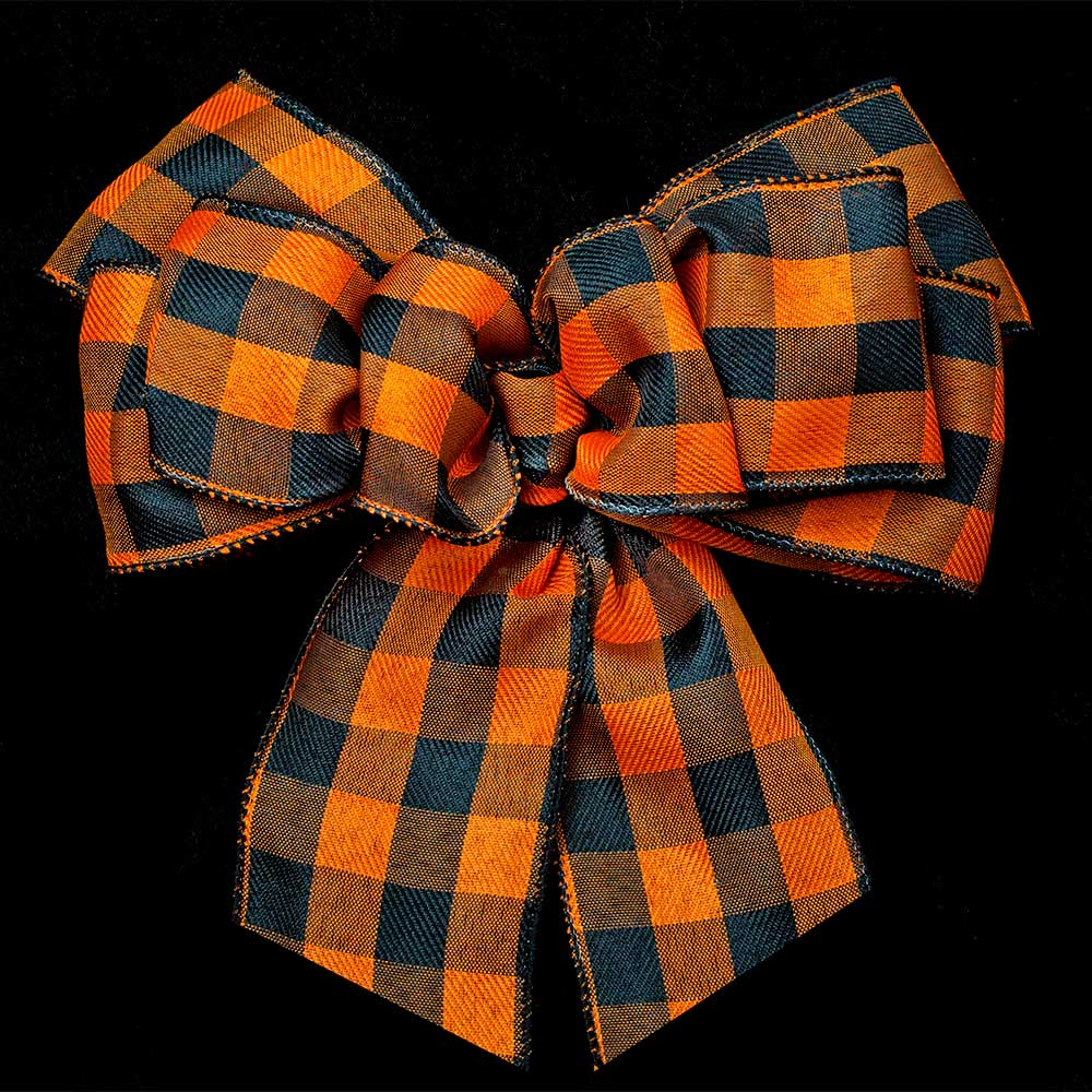 "2 1/2"" HOLIDAY PLAID RIBBON"