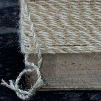 2.5MM TWO TONE JUTE CORD RIBBON
