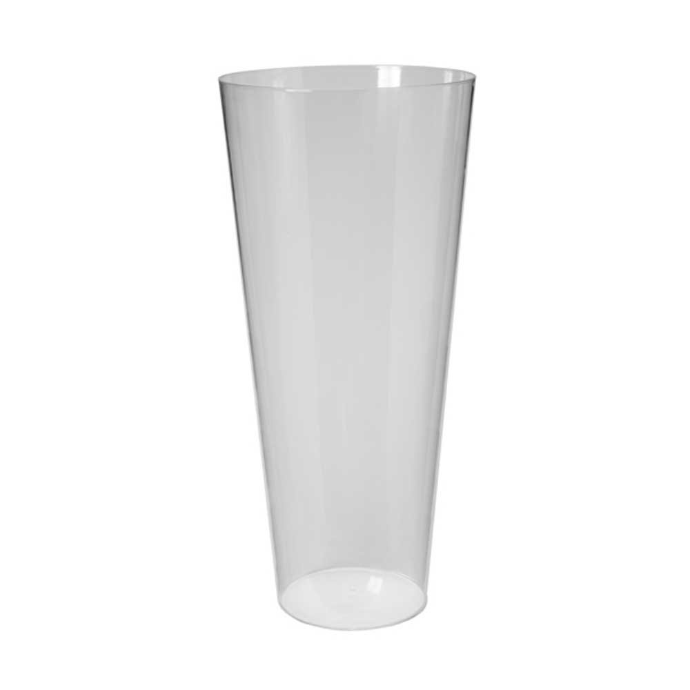 "22"" DISPLAY BUCKET,CLEAR"