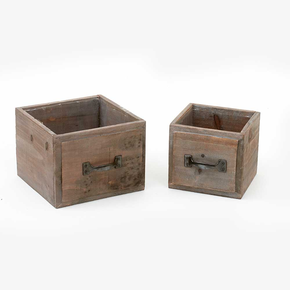 SINGLE DRAWER POT W/LINER