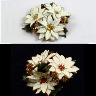 POINSETTIA RINGS,GOLD