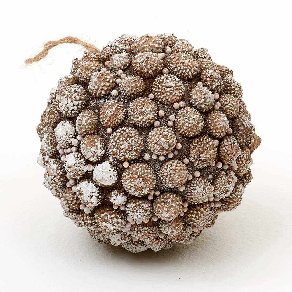 "5.5"" ACORN BALL ORNAMENT"