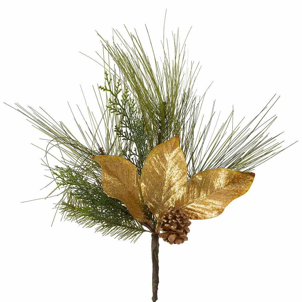 "24"" MAGNOLIA/CONE SPRAY"