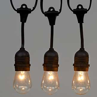 21' EDISON BULB SET,WHITE