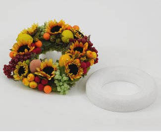 "16"" STYROFOAM WREATH"
